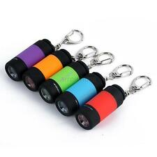 Mini USB LED Torch Lamp Light Keychain Pocket Rechargeable Flashlight 0.5W   A63