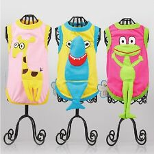 New Cute Cartoon Design Dog Clothes Pet Clothing Shirt Cat Costume Puppy Apparel