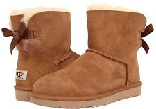 UGG Women's Mini Bailey Bow Chestnut
