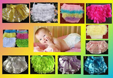 BABY GIRL BLOOMERS RUFFLE NAPPY COVER  many styles in 3 x sizes   AUSSIE SELLER