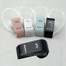 Mini Wireless Bluetooth Handsfree Headphone Earphone Headset For Phone Samsung