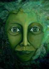 Green Man - Jack in the Green Greeting Card - 3 options available