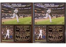 Derek Jeter #2 Final Home Game The Captain Yankees 1995-14 Photo Plaque