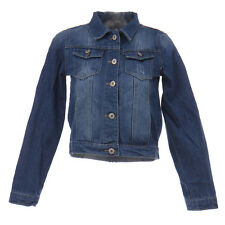 Fashion Vintage Women Short Jean Denim Jacket Outerwear Long Sleeve Short Coat