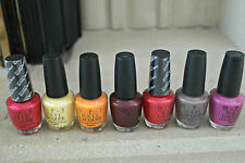 Genuine OPI Nail Laquers Lovely Colours You Choose 15ml