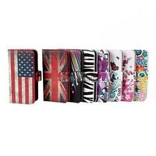 Fashion Wallet Flip Case Cover PU Leather Skin For Samsung Galaxy S5 i9600 A80