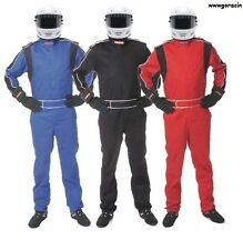 Pyrotect Sportsman Deluxe SFI-1 Single Layer 1 Piece Drivers Suit,Fire Suit  12