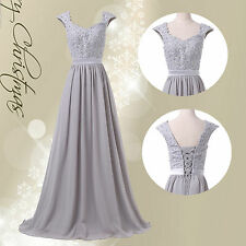 Applique XMAS Long Evening Wedding Dresses Mother of the Bride Gown Prom Dress 1