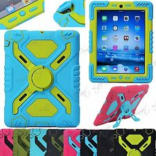 Survivor Military Shock Proof Heavy Duty Defender Case Cover Fit iPad 4 3 2 Mini