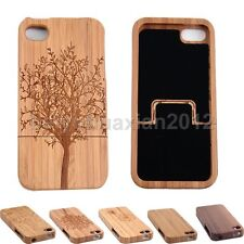 """Hot Popular Bamboo Wood Wooden Hard Back Case Cover Skin  for iPhone 6 4.7"""" Plus"""