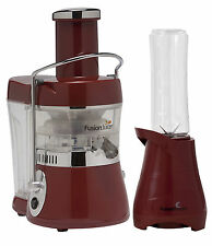 Jason Vale Fusion Juicer – Juice Extractor with Bonus Booster Blender