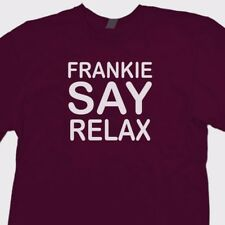 Frankie Say Relax movie T-shirt Retro 80's Goes To Hollywood Music Tee Shirt