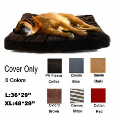 Zipper Cover 4 Large Dog Pet Bed Mat Cushion Do It Yourself Cover Only 6 Color