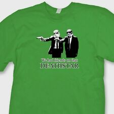 We Had Friends On That Deathstar T-shirt Funny Pulp Fiction Star Wars Tee Shirt