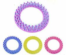 GOUK New Round Loom Board For Colourful Rainbow Rubber Bands Kit Refill Making