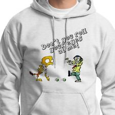 Don't Roll Your Eyes At Me! T-shirt FUNNY Halloween Zombies Hoodie Sweatshirt