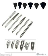 GRS® TOOLS C-MAX CARBIDE ONGLETTE GRAVERS #0-1-2-3-4-5