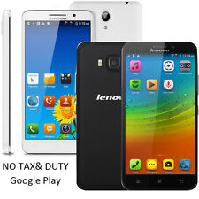 5.5 Inch 4G LTE Lenovo A916 Octa Core Mobile Phone MTK6592 Multi-language WCDMA