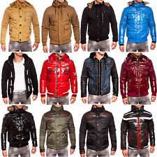 Redbridge Young & Rich Herren gefütterte Warme Winterjacke Mantel Jacke R-5302