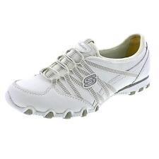Skechers Bikers Dream-Come True Leather Athletic Sneakers Shoes Used