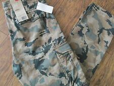LEVI'S CAMO CARGO I JEANS/PANTS RELAXED FIT