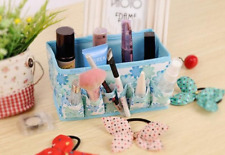 ♥ Make up Cosmetics Storage Box Container Organiser Foldable Multi Color UK ♥