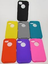FOR OTTERBOX REPLACEMENT SILICONE SKIN FOR APPLE iPHONE 4 4S 4G