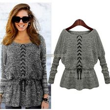 NEW Women Crochet Knitwear Jacket Coat Outwear Tops Jumper Cardigan Sweater