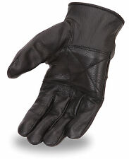 First Classics Men's Unlined Cowhide Driving Leather Motorcycle Pair Glove