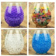 Water Plant Flower Jelly Crystal Soil Mud Water Pearls Gel Beads Balls