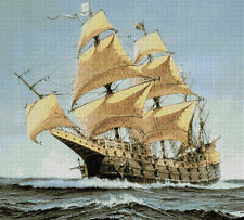TALL SHIP - CROSS STITCH CHART
