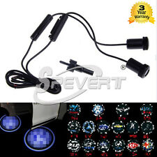 2Pcs Kit Luci Led Proiettori Con Logo Auto Car Ghost Shadow LED Door lights