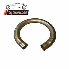 Any Size T304 Stainless Steel Exhaust Polylock Flexible Tube With Collars