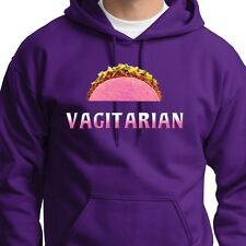 VAGITARIAN Funny Rude T-shirt Offensive Humor Same Love Sex Hoodie Sweatshirt