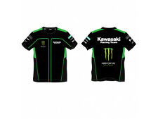 Official Kawasaki Team Race Wear shirt New 2014 Monster MX