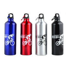 Outdoor Portable 750ml Sport Cycling Camping Bicycle Aluminum Alloy Water Bottle