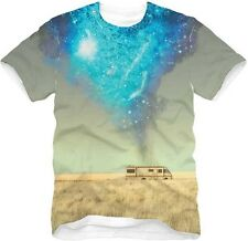 AUTHENTIC BREAKING BAD SUBLIMATION WALTER RV SCENE METH TRAILER T SHIRT S-2XL