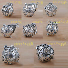 Wholesale Solid Sterling Silver Harmony Ball Bola 20mm  22mm Choose Only Cage