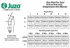JUZO SOFT ARM SLEEVES 30-40 mmHg COMPRESSION SLEEVES  NEW IN BOX, DIFF SIZES