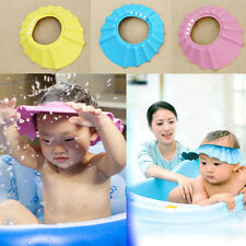 L Perfect Shampoo Shower Bathing Bath Protect Soft Cap Hat For Baby Children