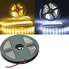 5M 5050 SMD 300 LED Lights Non-Waterproof Flexible Strip DC 12V Pure/Warm White