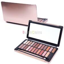 12 24Color New Women Warm Glitter Palette Makeup Cosmetic Eyeshadow Set Brush in