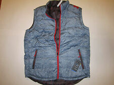 Under Armour Cold Gear Reversible Down man gray/black/red vest  Brand New