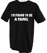 I'M PROUD TO BE A TAMIL SRI LANKA COUNTRY Unisex Adult T-Shirt Tee Top