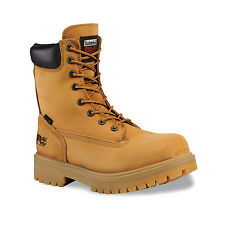 "Timberland Men's PRO® Direct Attach 8"" Soft Toe Boots Wheat Nubuck 26011"