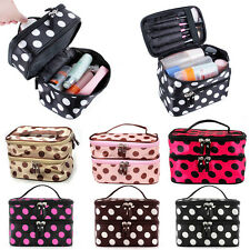 Beauty Makeup Cosmetic Bag Travel Toiletry Wash Case Organizer Holder Handbag