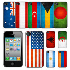 Country National Flag Hard Phone Case Cover for Apple iPhone 4 4S
