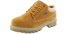 MEN'S LUGZ EMPIRE LO WR EEE COLOR:GOLDEN WHEAT THERMABUCK SLIP RESISTANT BOOTS