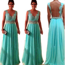 New Long Sexy Evening Party Ball Prom Gown Formal Bridesmaid Cocktail Dress NWT