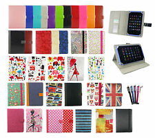 """Stylish Universal Wallet Case Cover  fits Archos 101 Platinum 10.1"""" Inch Tablet"""